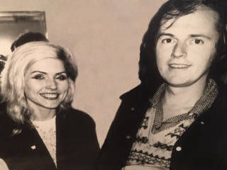 Roger Watson and Debbie Harry