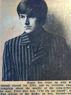 Roger Watson pop idol of 1966